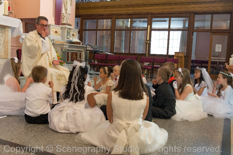 First Holy Communion, June 2013
