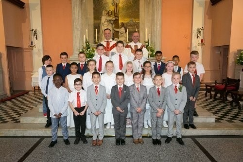 St Mary's Loughborough First Holy Communion 2019