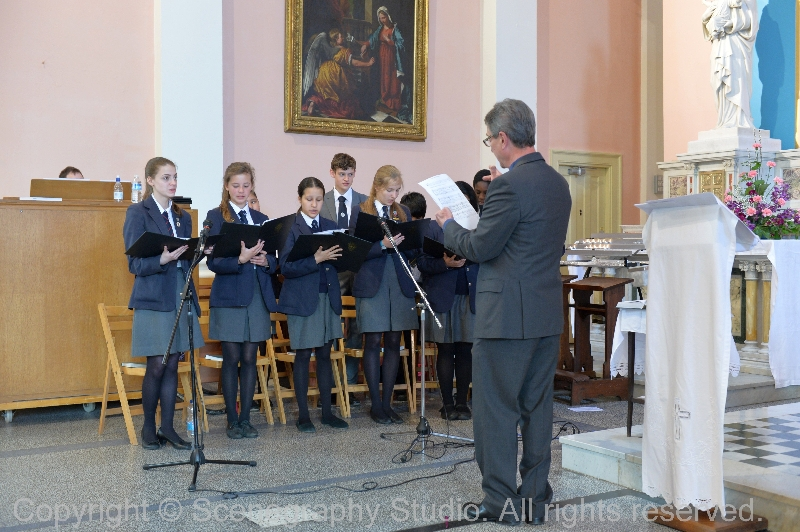 Ratcliffe College Choir at St Mary's 11 May 2013